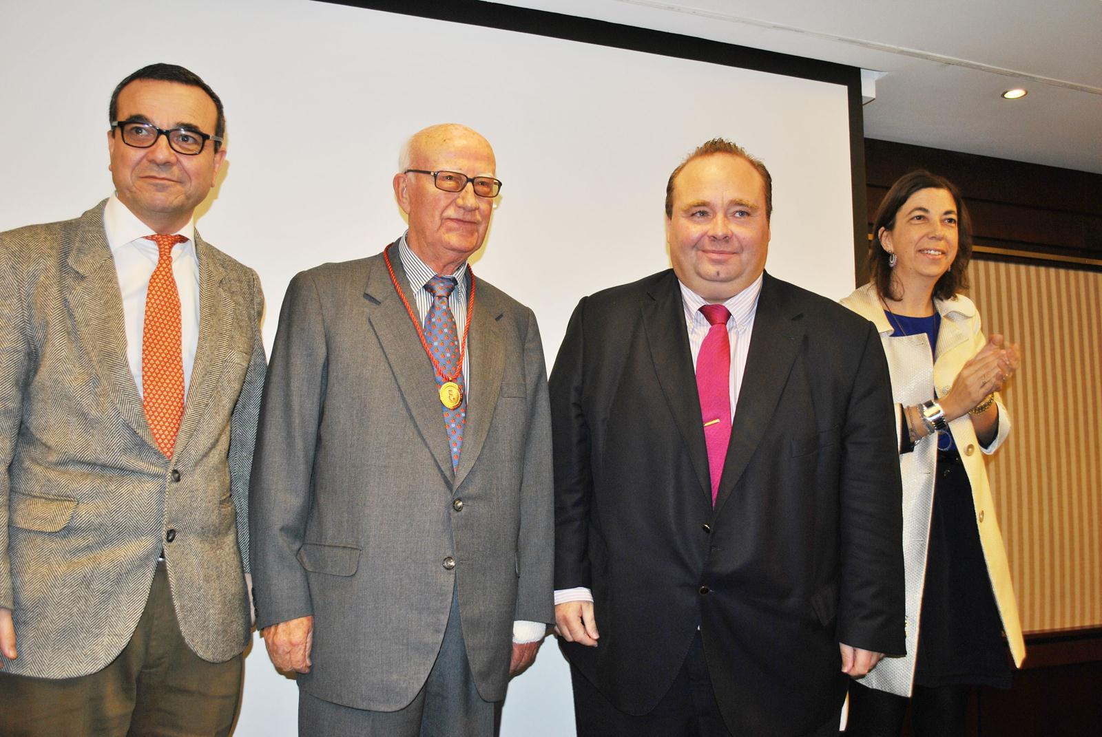 D. Gabriel Barceló Oliver, Medalla de Oro del Colegio de Economistas a la Trayectoria Empresarial 2012
